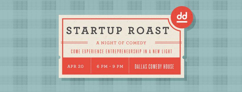 digital dallas startup comedy roast